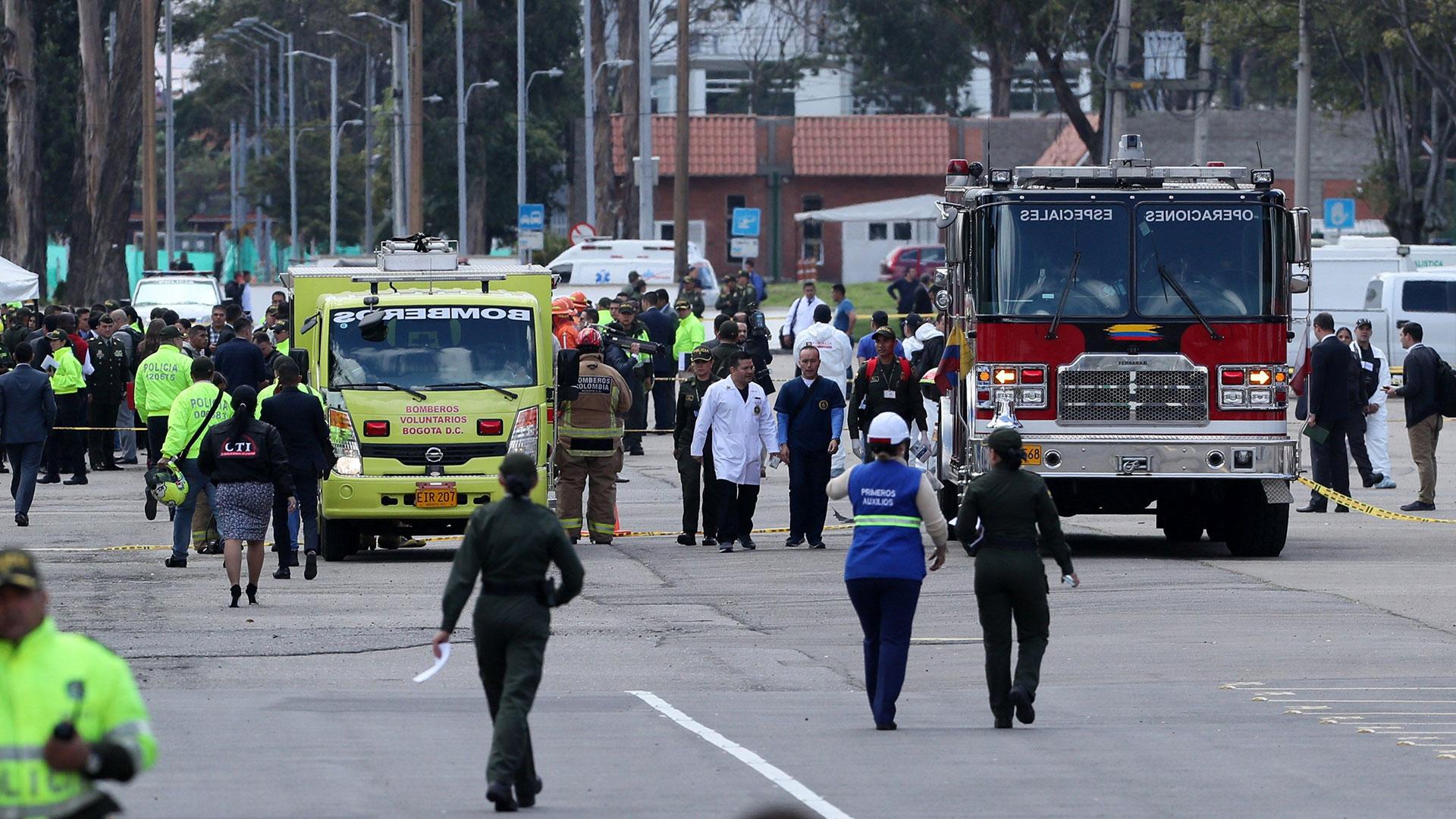 Autoridades y el Gobierno Nacional atienden la emergencia. (EFE)