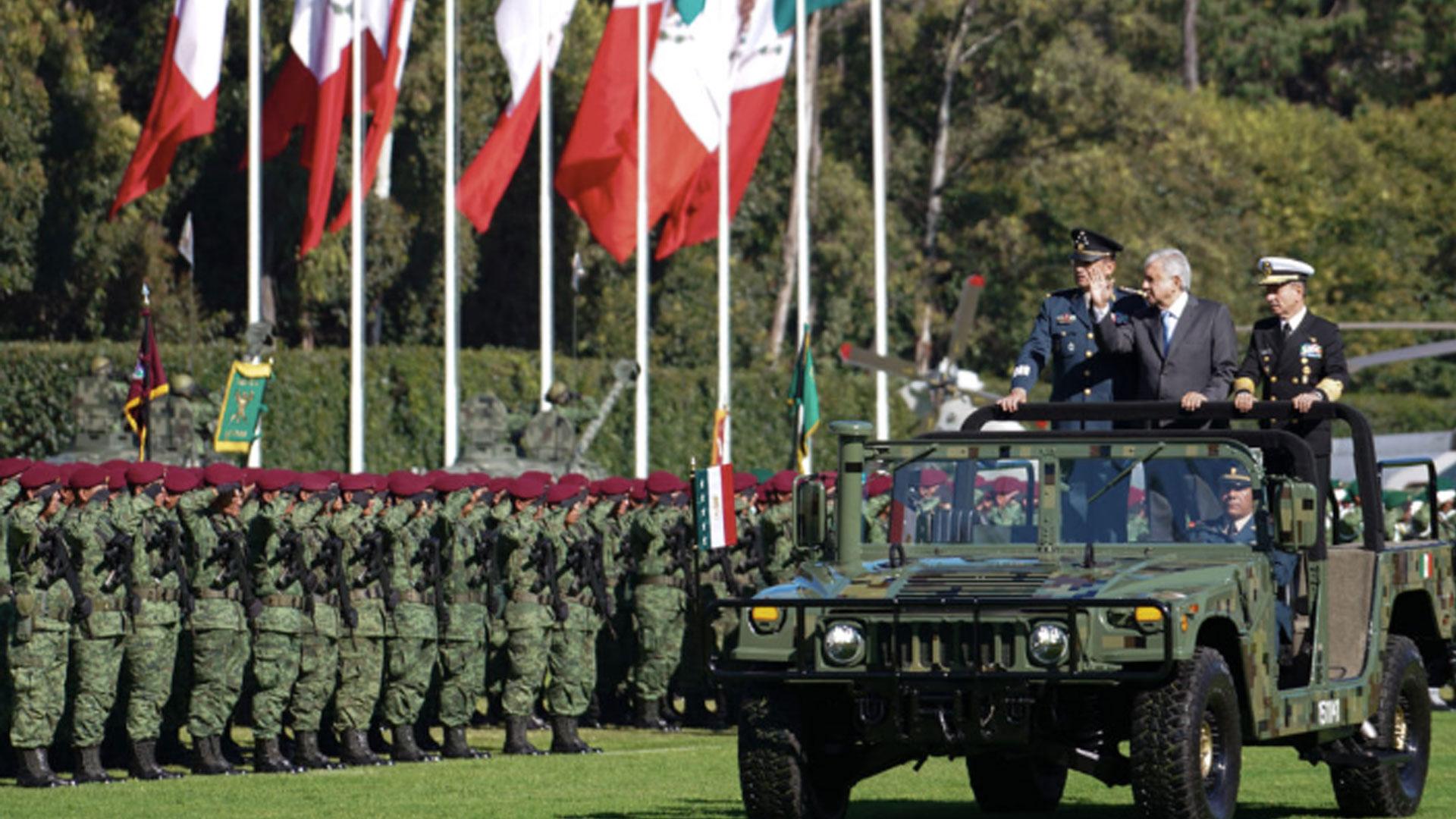 El presidente propuso un modelo militarizado de policía nacional. (Foto: Lopezobrador.org.mx)
