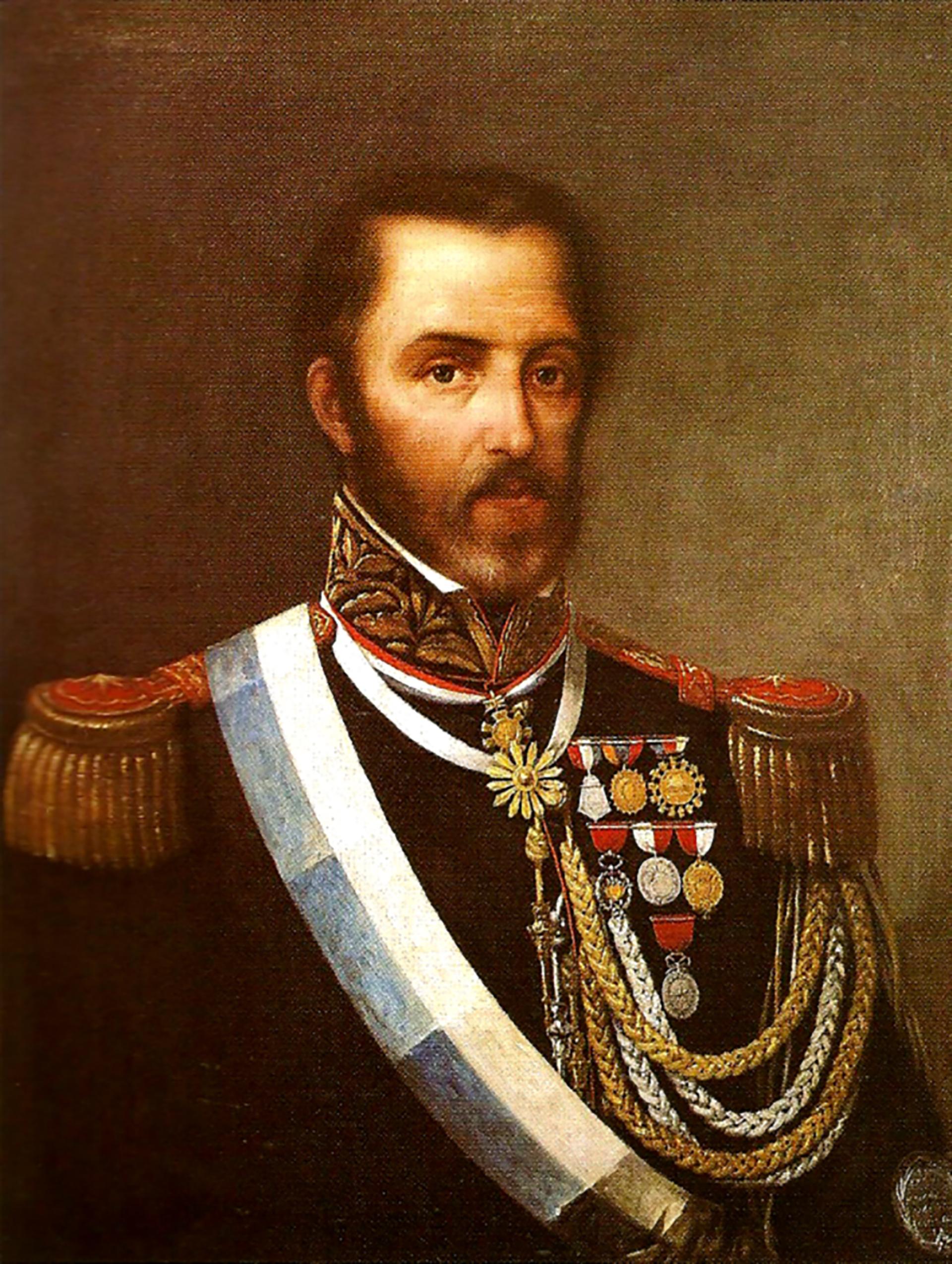 Juan Lavalle, otro de los próceres que participó de la Batalla de Ituzaingó