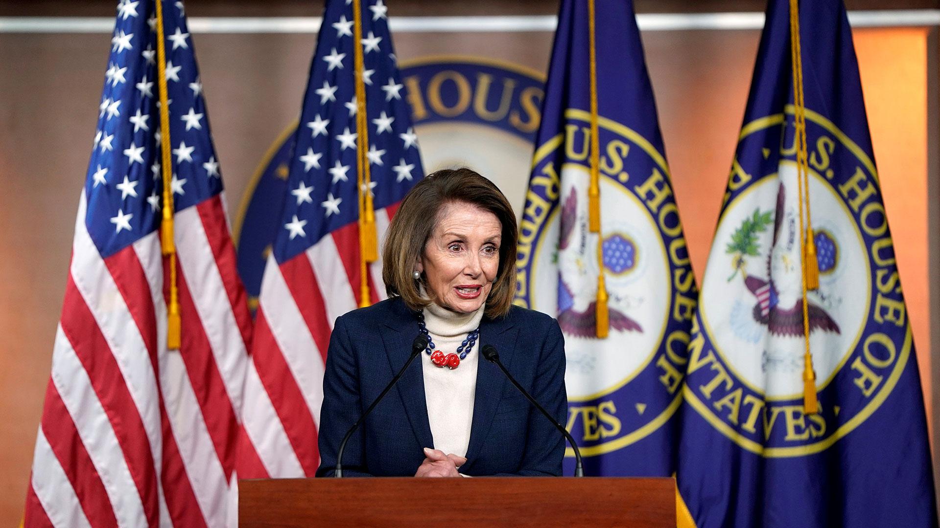 Nancy Pelosi (Reuters)