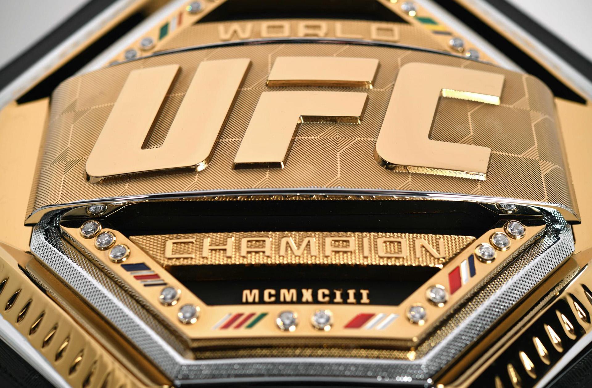 El cinturón se entregará el 19 de enero en UFC Brooklyn, en el combate entre Henry Cejudo, campeón de peso mosca , ante TJ Dillashaw, campeón de peso gallo