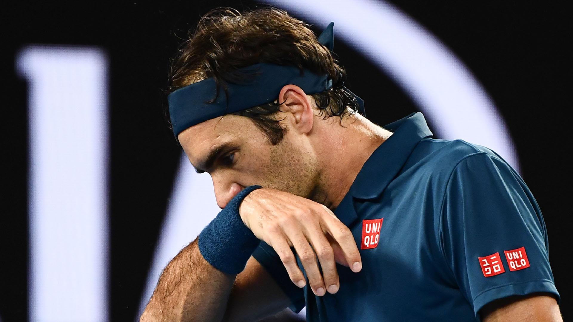 Federer había sido campeón de las dos últimas ediciones en Melbourne (AFP)