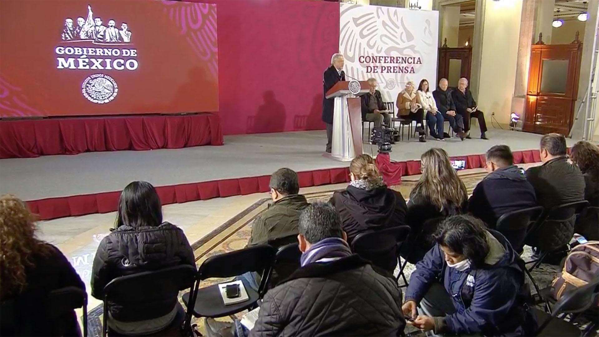El presidente Andrés Manuel López Obrador ofreció este domingo el parte sobre la explosión en Hidalgo. (Foto: Especial)