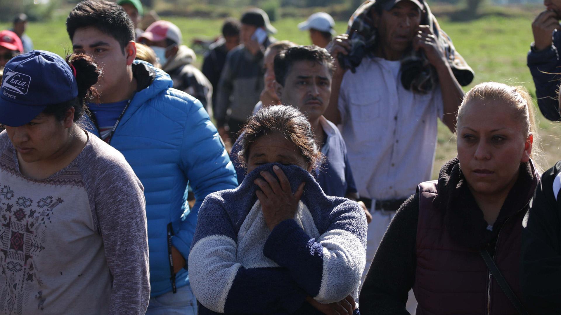 Luego de la tragedia en Hidalgo, López Obador anunció su visita a municipios que incurren en el robo de gasolina (Foto: EFE)