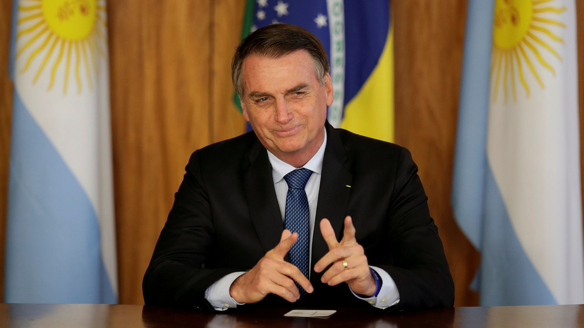 Jair Bolsonaro (REUTERS/Ueslei Marcelino/File Photo)