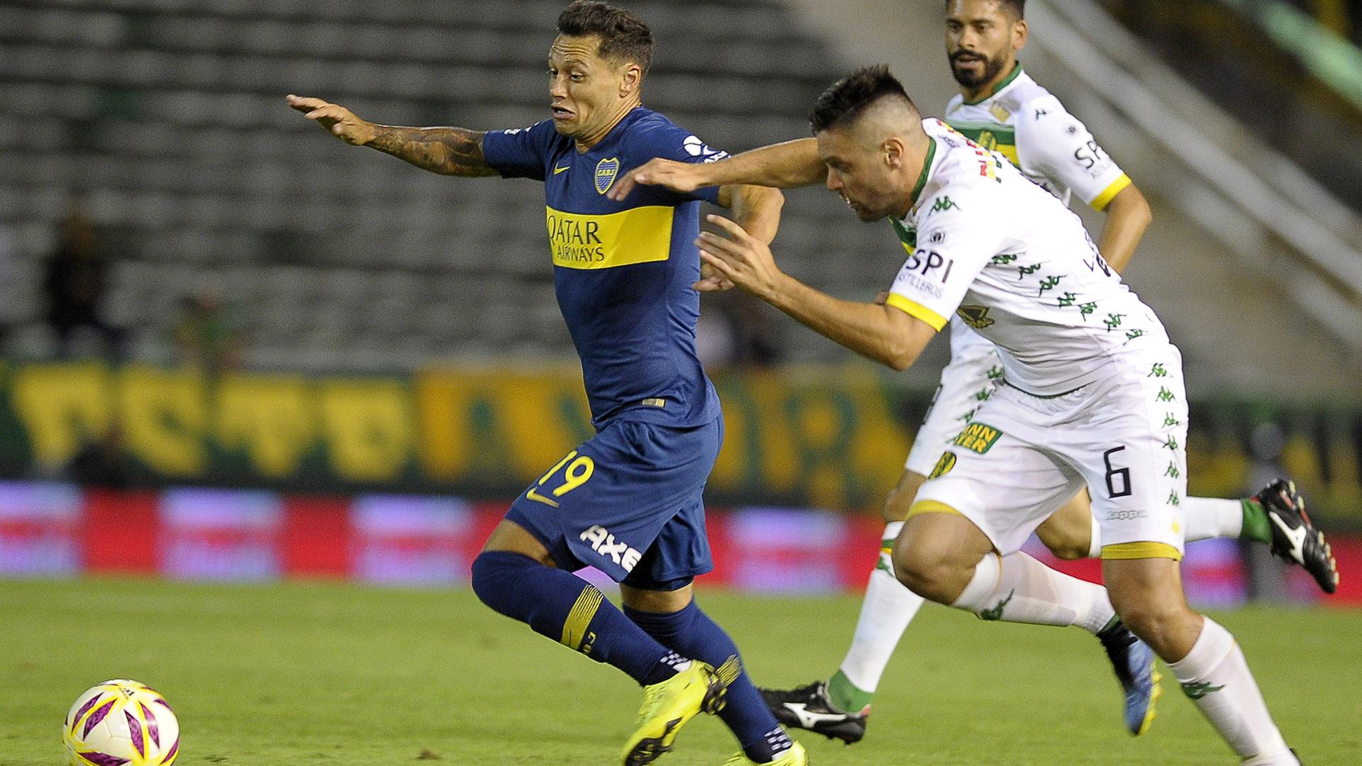 Aldosivi y Boca disputaron un amistoso en el último verano: el equipo de Alfaro se impuso 2-1 (Foto Baires)