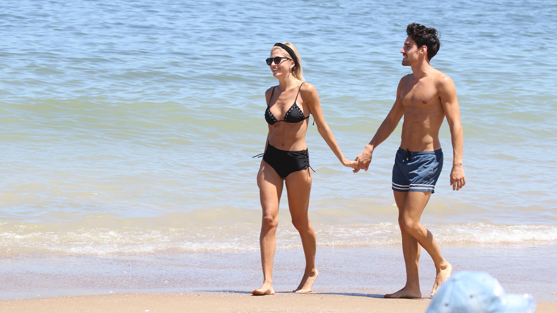 En diciembre pasado, la hija de Oscar Ruggeri blanqueó su noviazgo con el joven emprendedor ligado al mundo del deporte