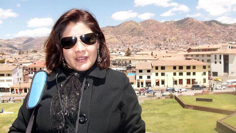 Giselle Solís Calle tiene 47 años