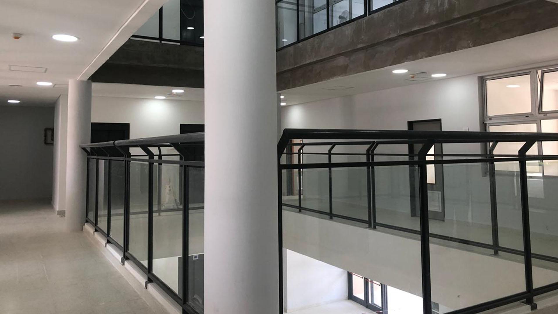 El nuevo edificio tiene cuatro pisos