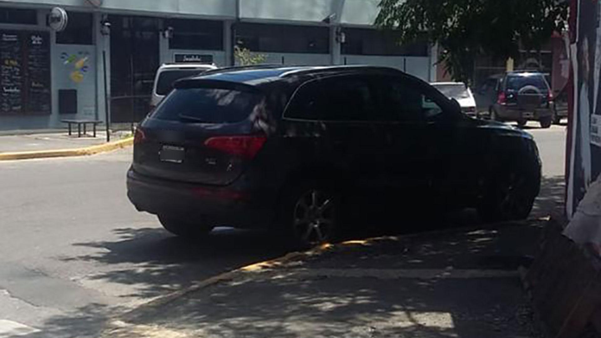 La camioneta de Romina Pereiro estaba estacionada en Dorrego y Cabrera