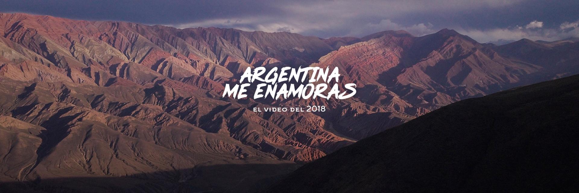 """""""Para mí Argentina es un país increíble que tiene todo, esa variedad de paisajes y de tradiciones sin dudas es una de las razones del alcance que tuvo el video"""". (Gabriel Franco Tripin)"""
