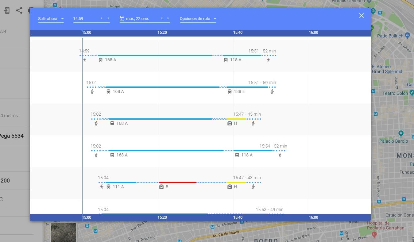 Esta actualización se suma a los datos estadísticos que hay de las líneas de subte A, B, D y E, así como a los trenes que atraviesan la Ciudad
