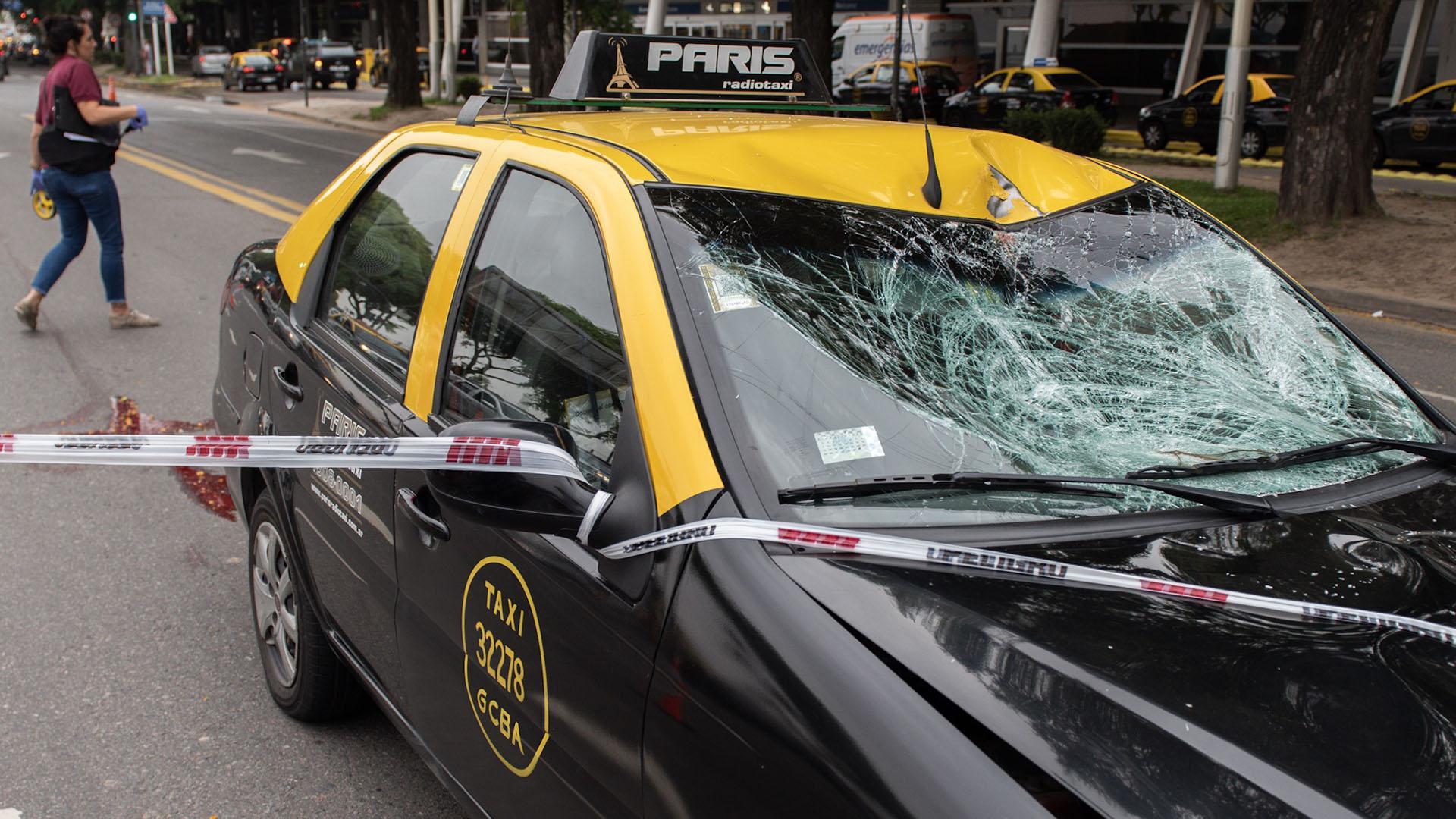 """El taxista quedó imputado por """"homicidio culposo"""""""