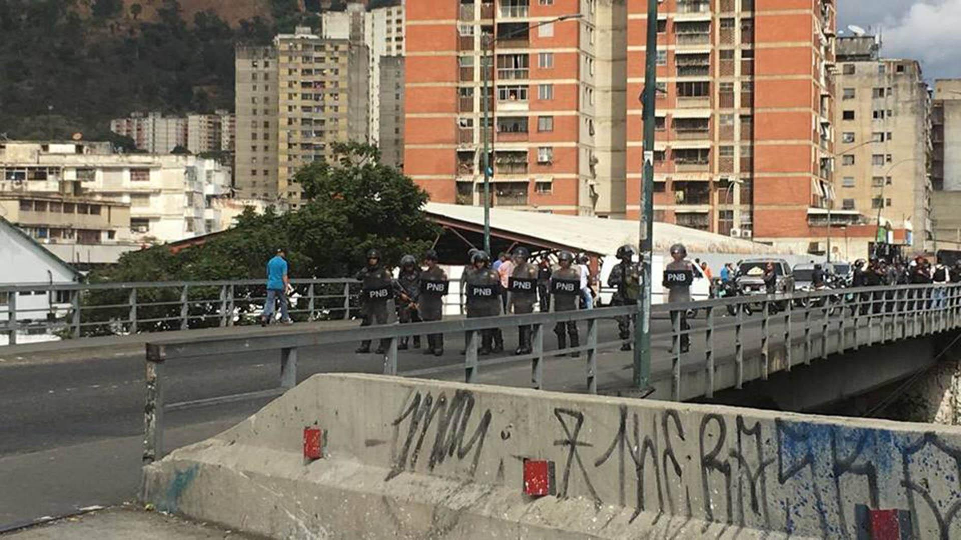 El chavismo desplegó un fuerte operativo de seguridad