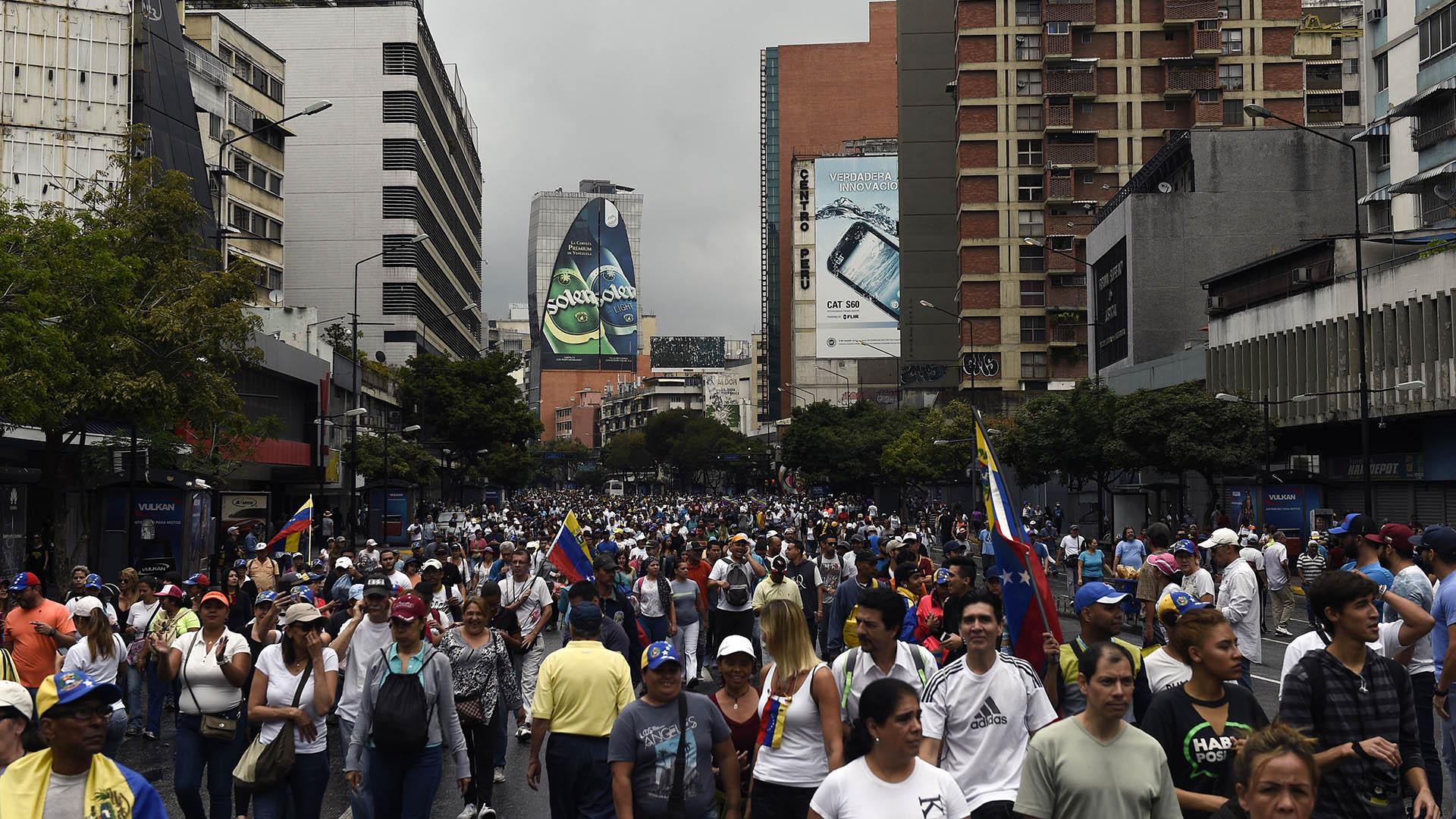 La manifestación también coincide con el Golpe de Estado del 23 de enero de 1958 que puso fin a la dictadura del general Marcos Pérez Jiménez