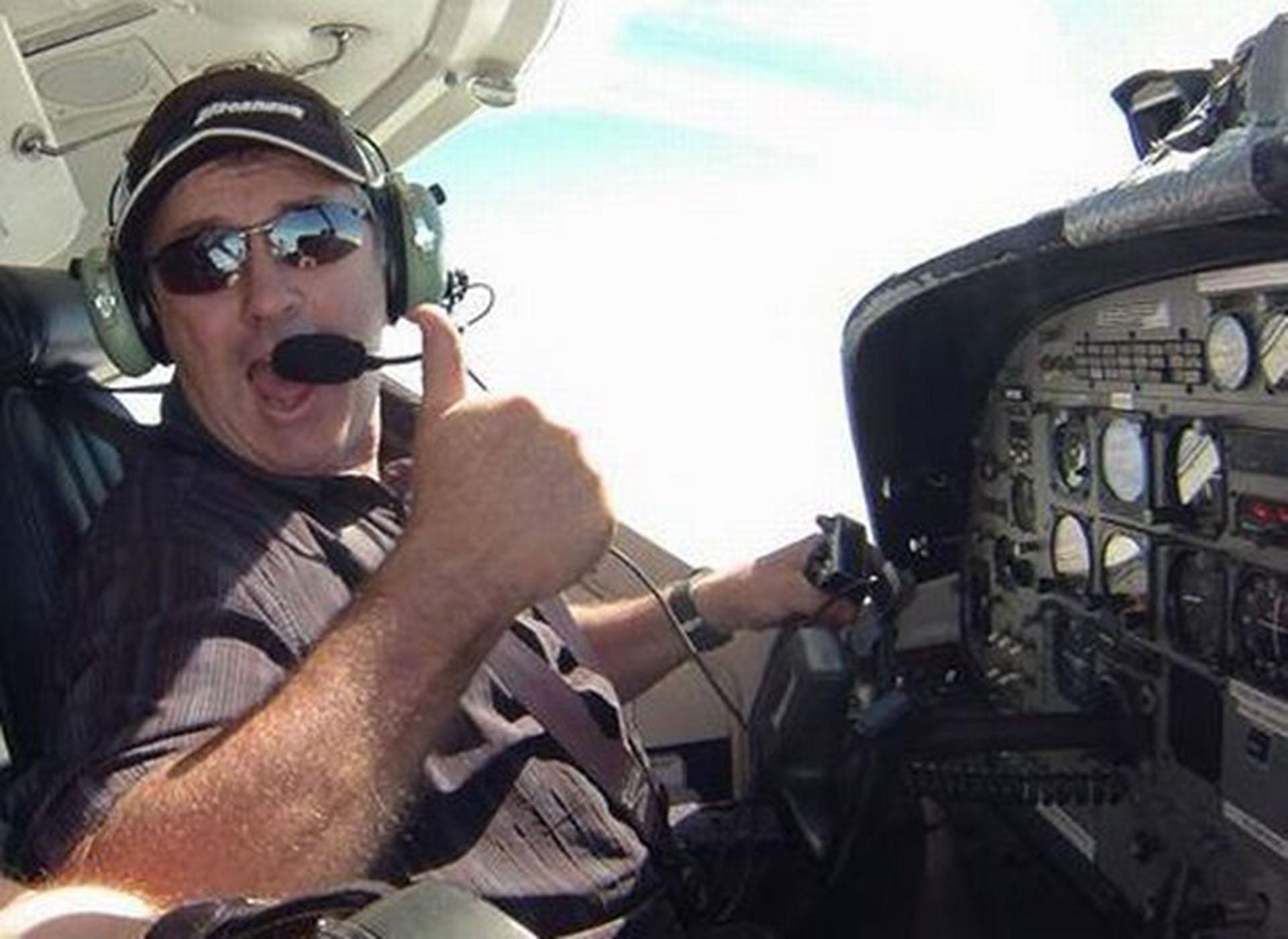 David Ibbtoson, el piloto del avión que trasladaba a Emiliano Sala (Grimsby Live)