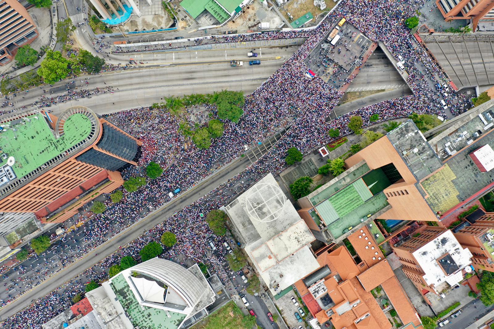 Resultado de imagen para manifestaciones venezuela 23 enero
