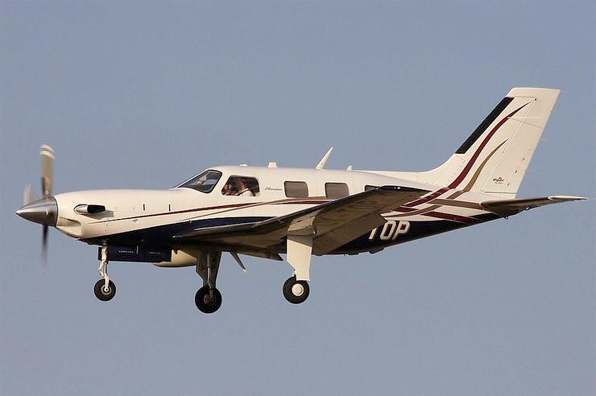 Piper PA-46 Malibu, en un avión similar a este viajaba el futbolista. (Foto: Instagram)