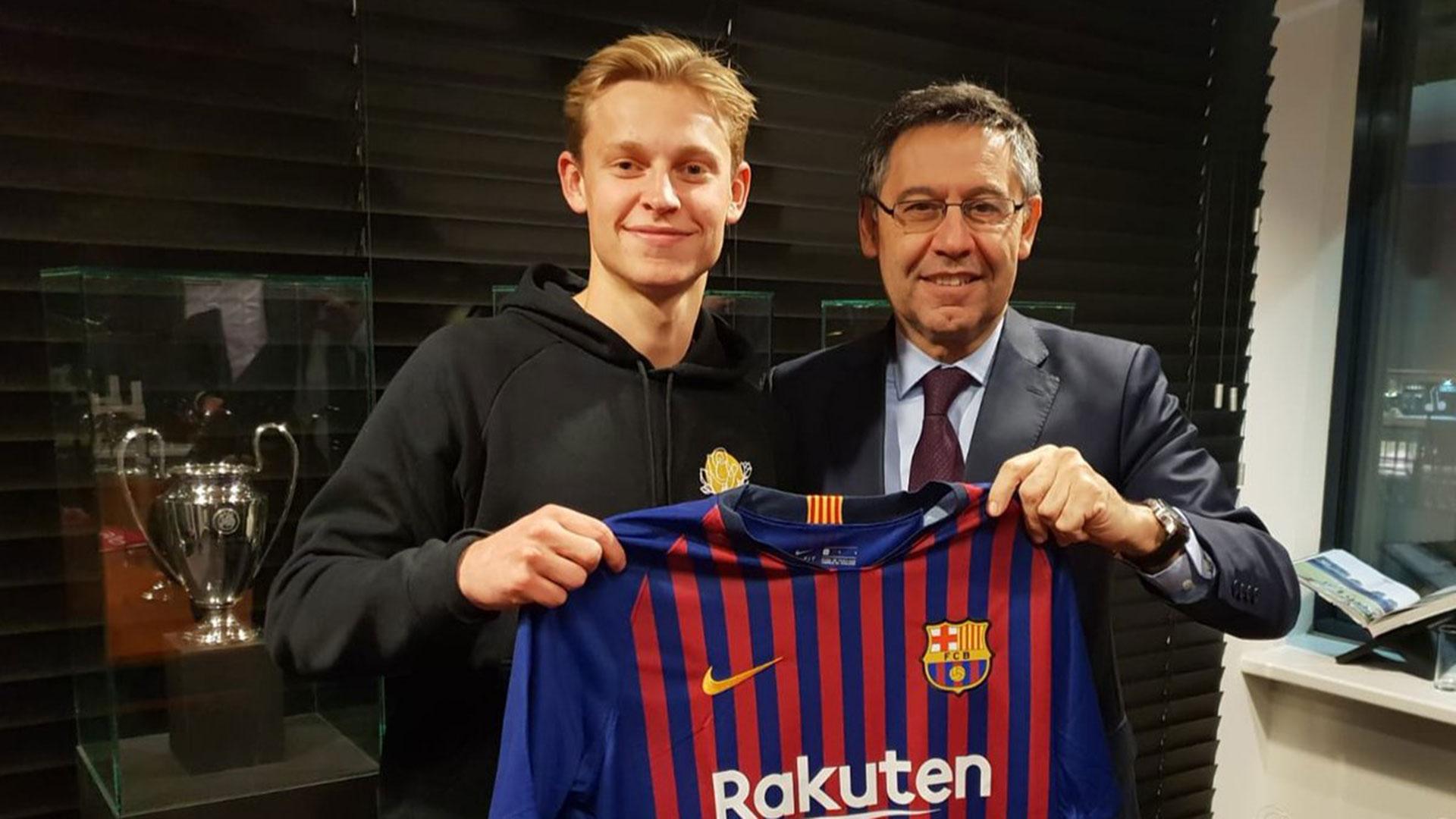 De Jong, uno de los últimos refuerzos del club catalán