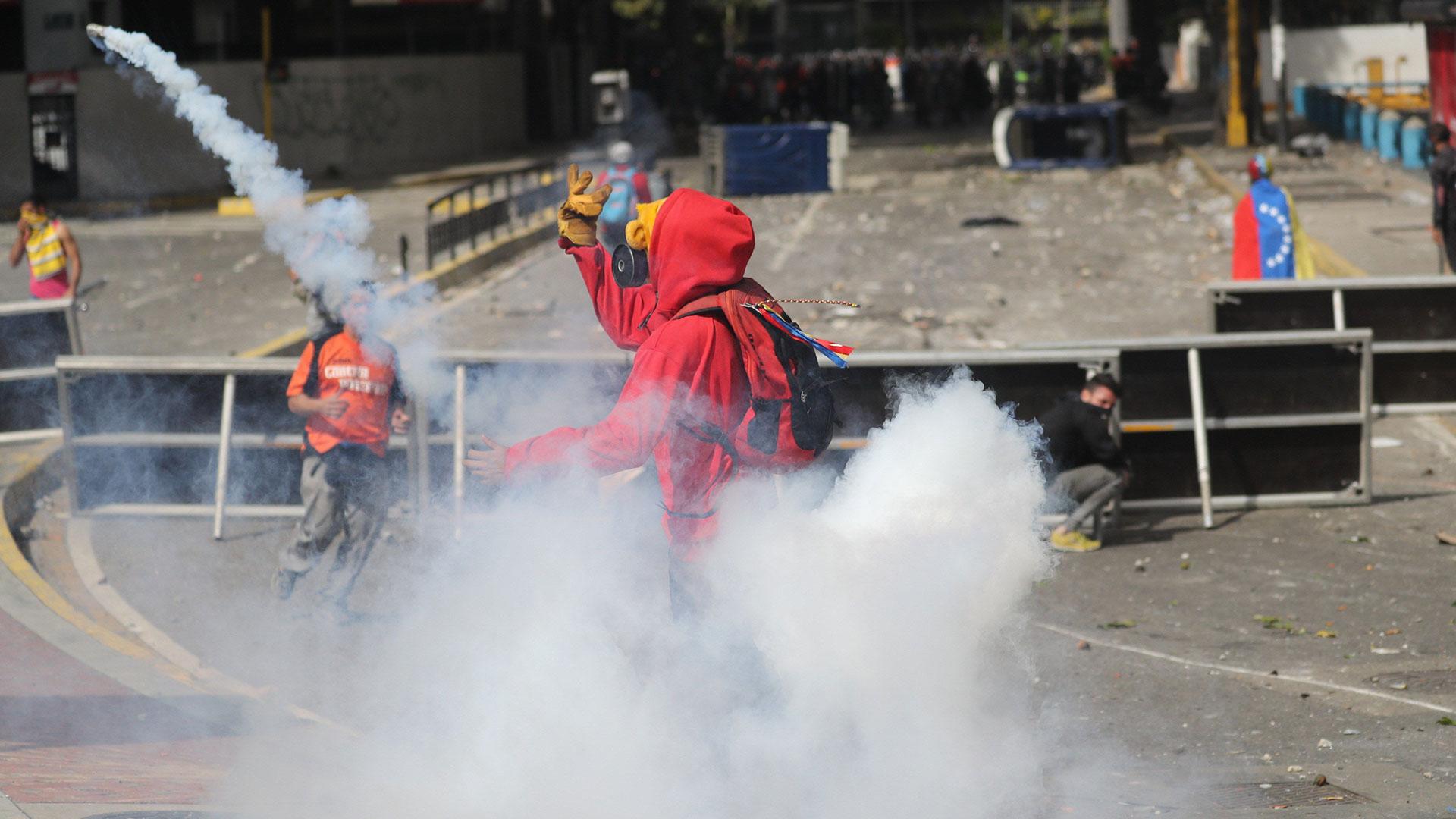 Las autoridades venezolanas desataron una represión feroz (EFE)