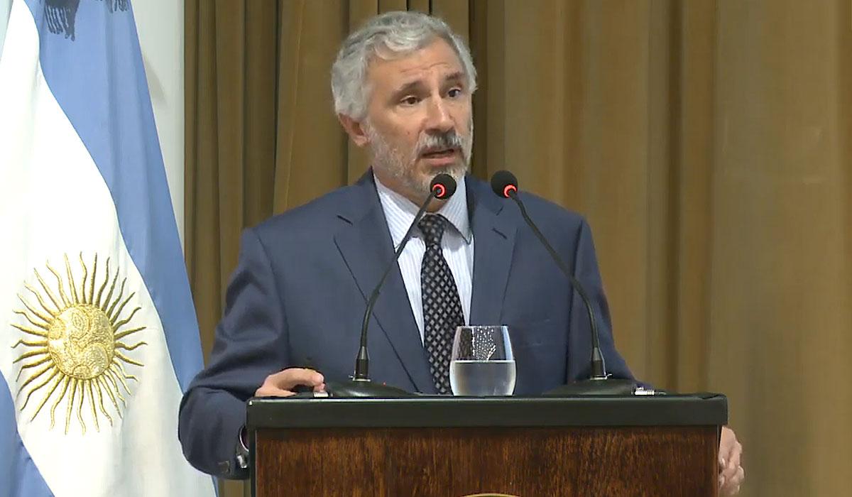 Gustavo Cañonero, vicepresidente del Banco Central.
