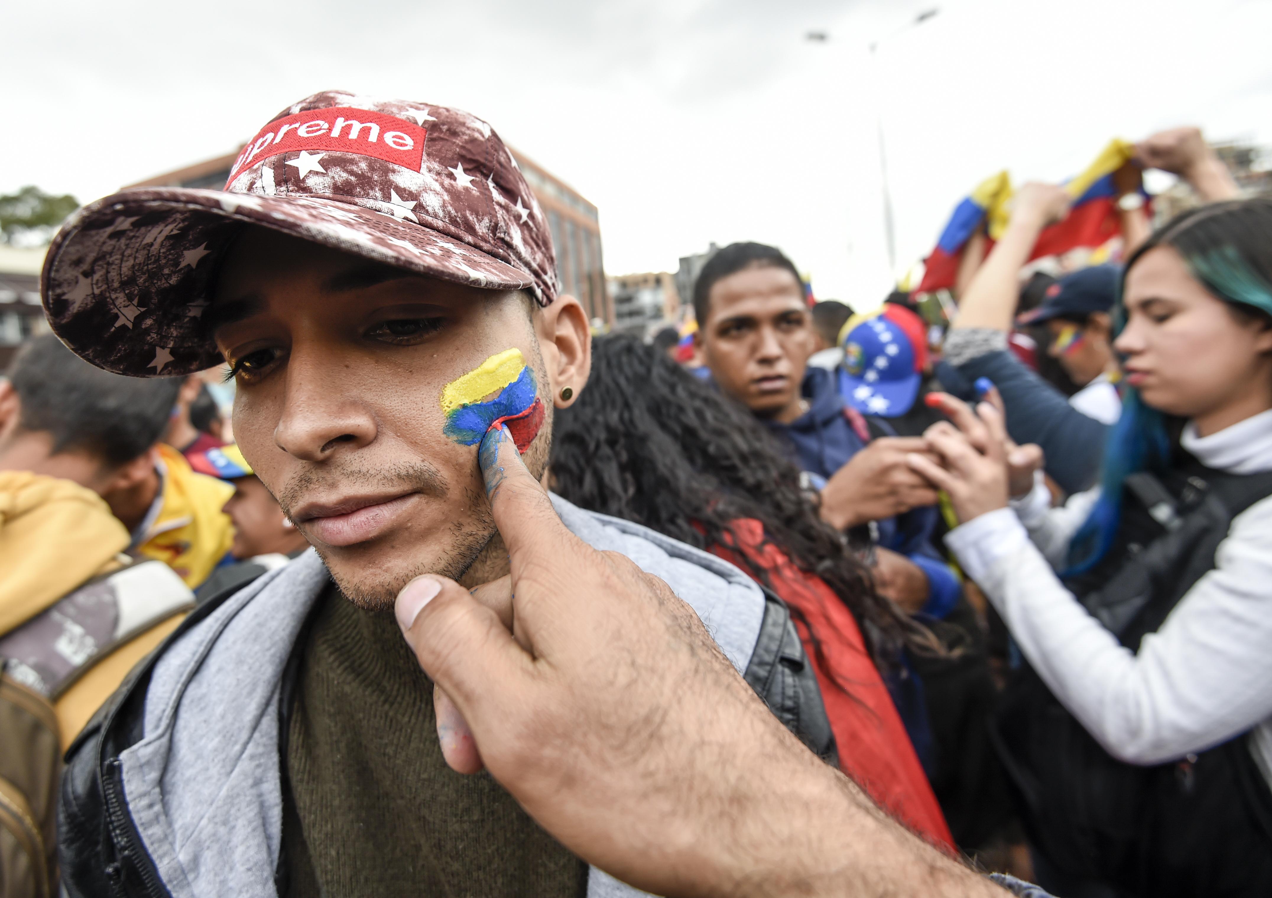 Bogotá. (Photo by Juan BARRETO / AFP)