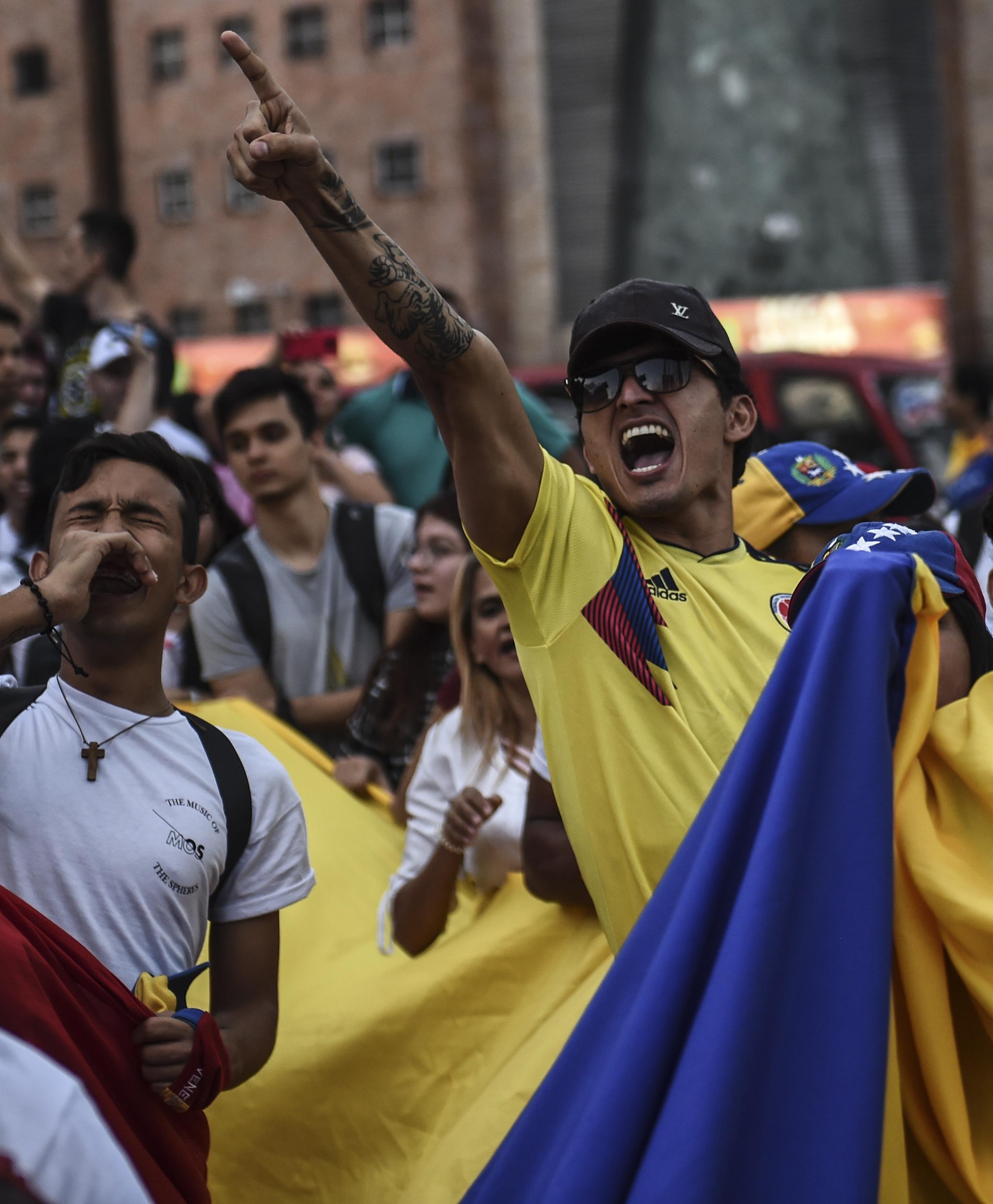 Medellin. (Photo by JOAQUIN SARMIENTO / AFP)