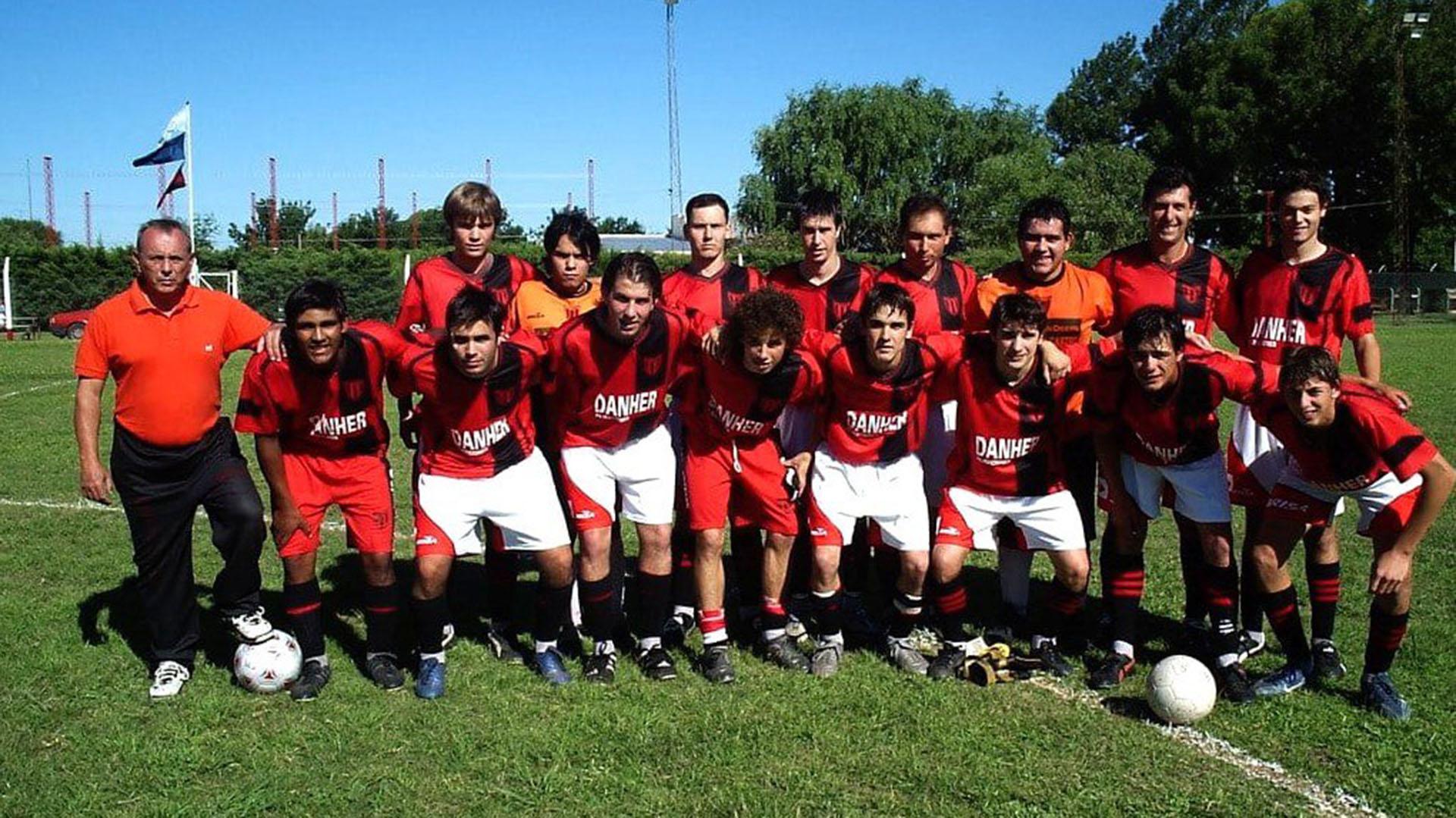 Emiliano Sala se formó futbolísitcamente en San Martín de Progreso, Santa Fe
