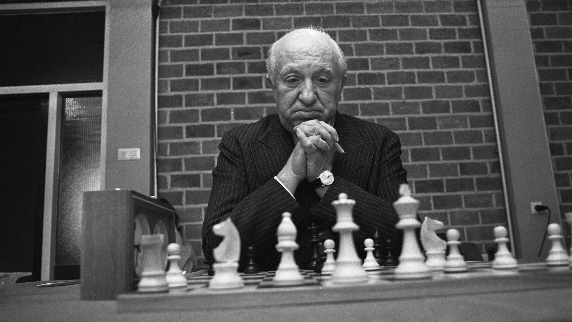 Miguel Najdorf era admirado por Bobby Fisher y Garry Kasparov, entre otros.