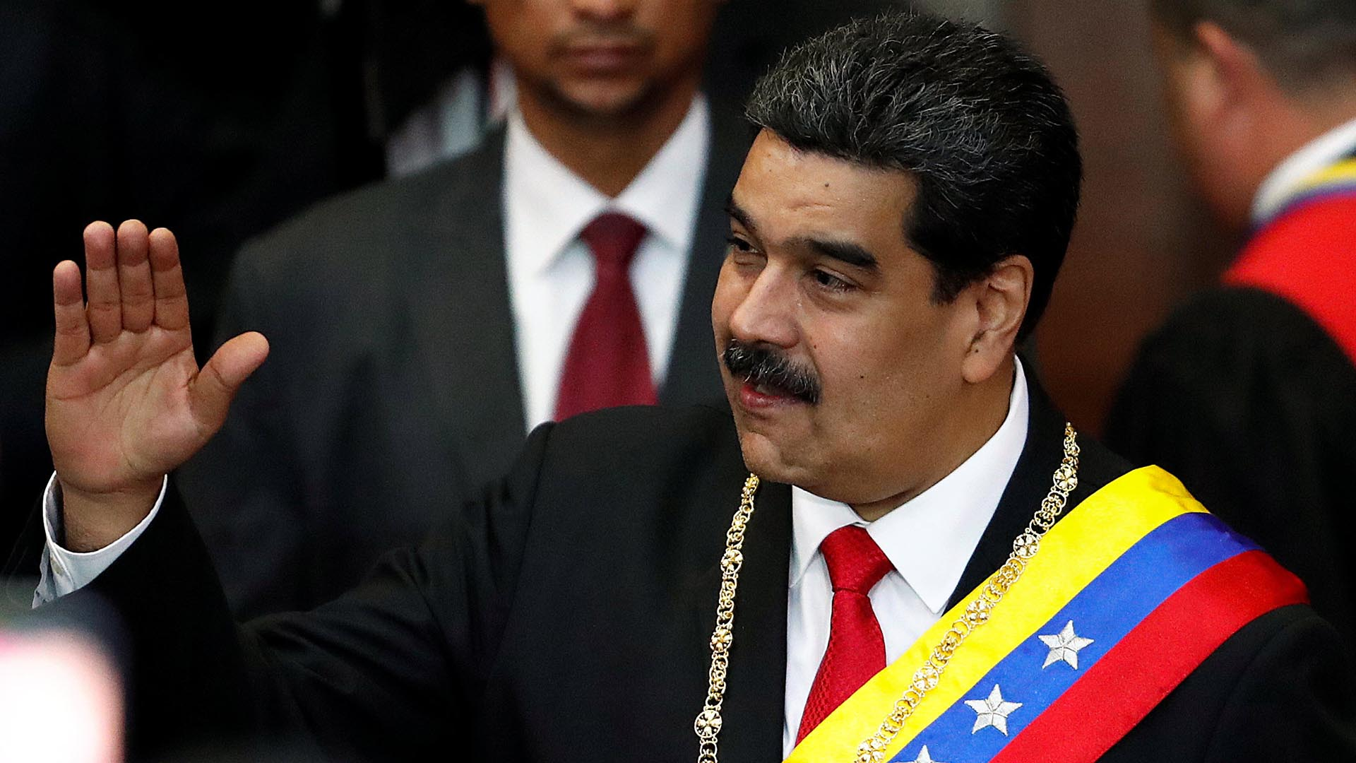 Nicolás Maduro. (REUTERS/Carlos Garcia Rawlins)