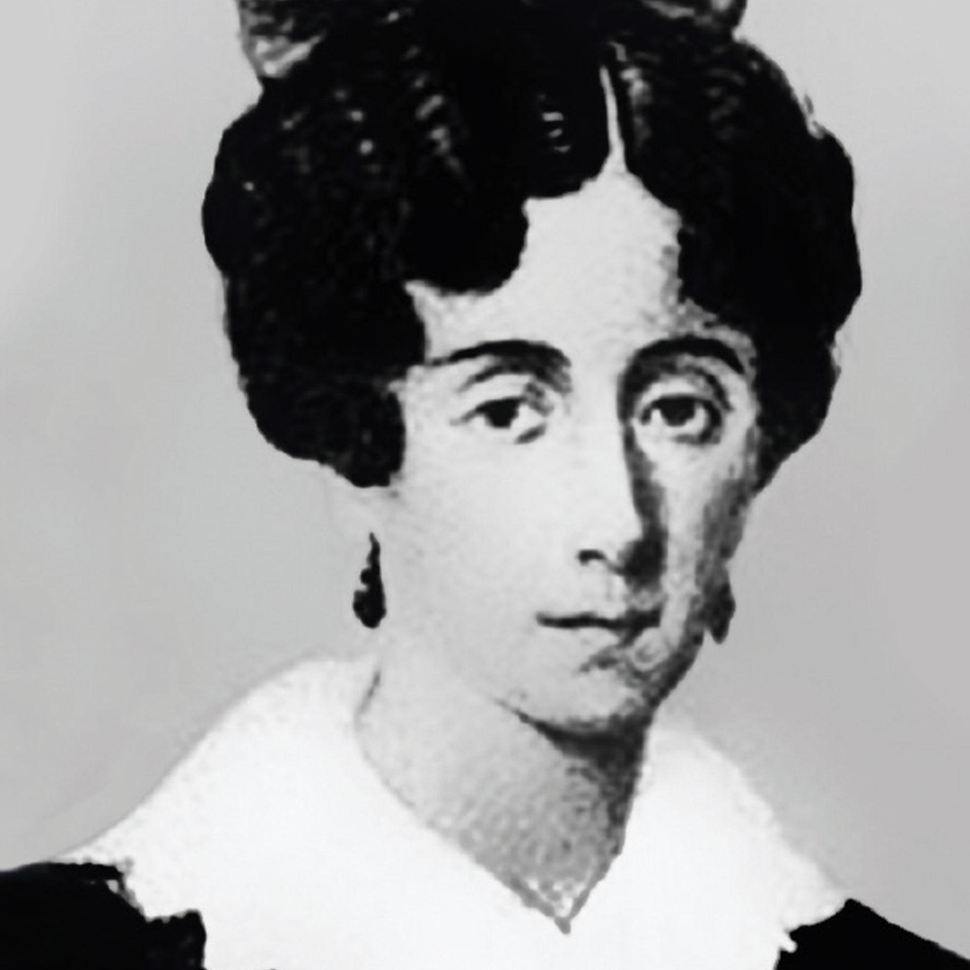 Mariquita Sánchez de Thompson (1786-1868) fue la primera mujer que se casó con quien ella eligió, y con sólo 17 años.