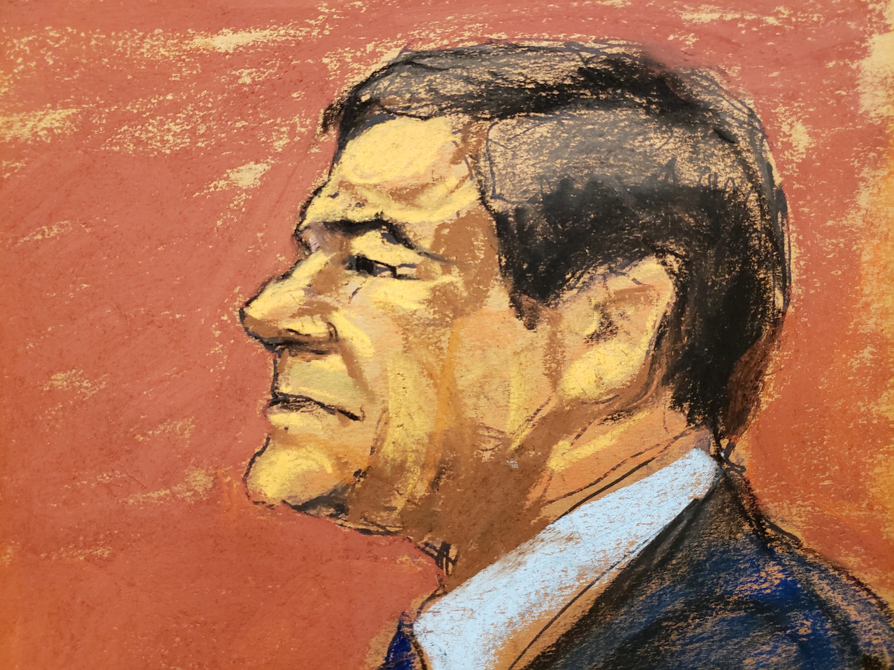 """""""El Chapo"""" Guzmán recibió condena. (Foto: REUTERS/Jane Rosenberg)"""