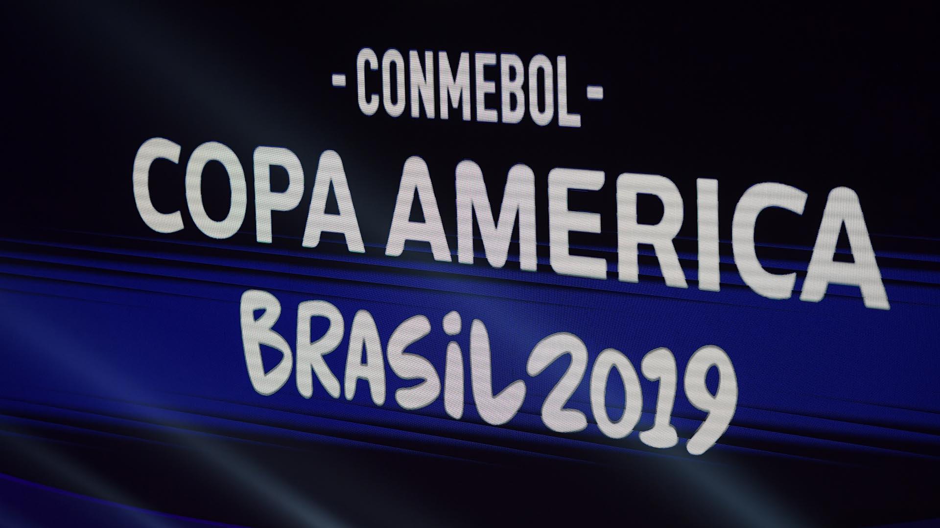La Copa América se disputará en Brasil entre el 14 de junio y 7 de julio (AFP)