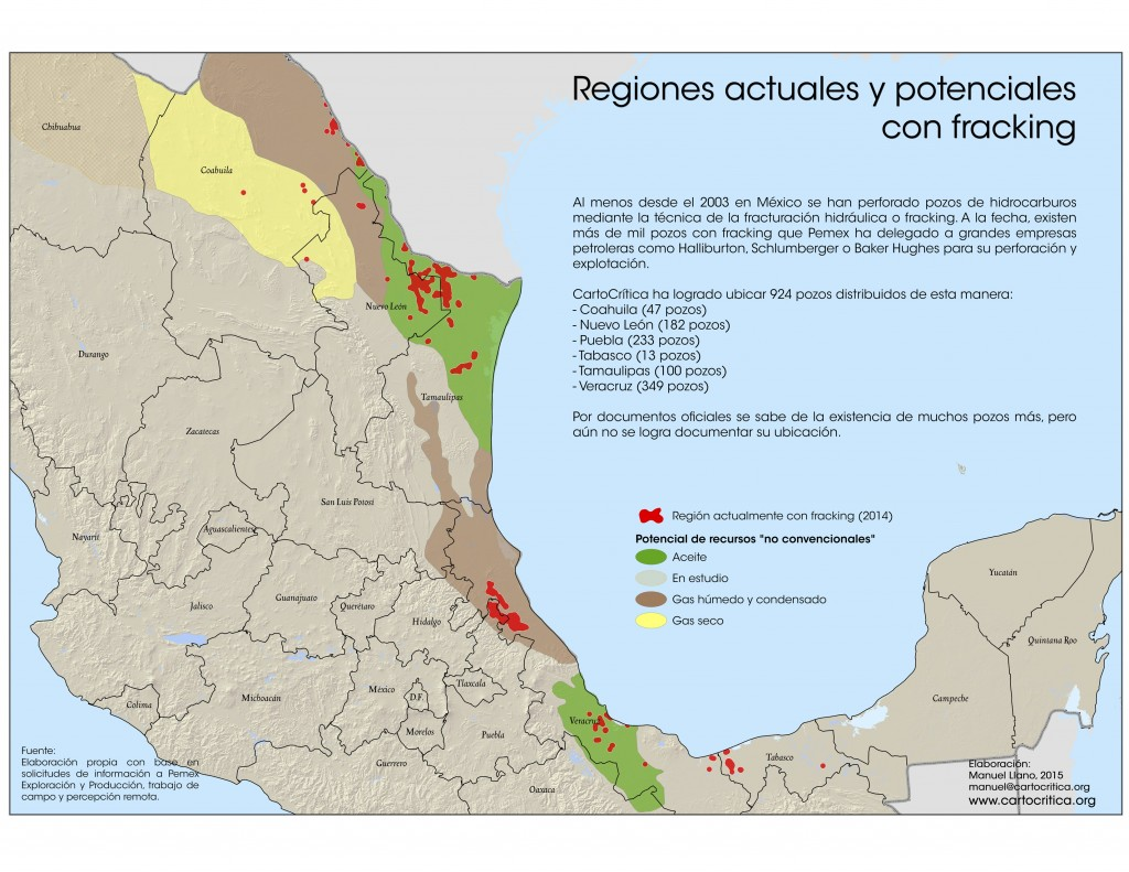 (Foto: Alianza Mexicana contra el Fracking)