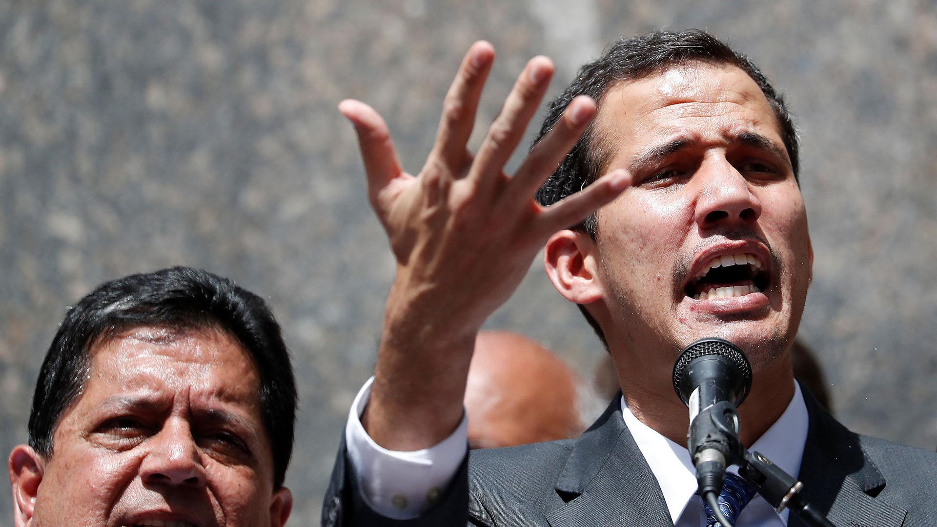 El líder opositor Juan Guaidó (Foto: Reuters)