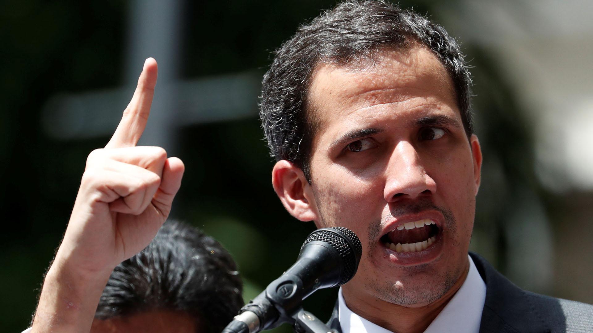 Juan Guadió aseguró que el régimen de Maduro está por caer. (Foto: Reuters)