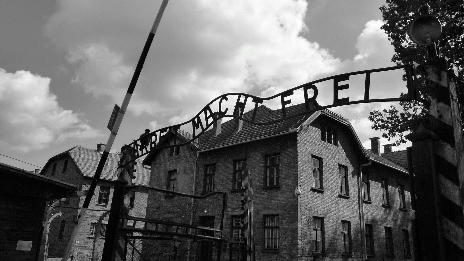 La mayoría de los prisioneros llegaban al campo en tren, después de un terrible viaje en vagones de carga que duraba varios días sin comida ni agua.