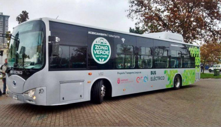 Chile fue el primer país en la región en incorporar buses eléctricos al transporte público