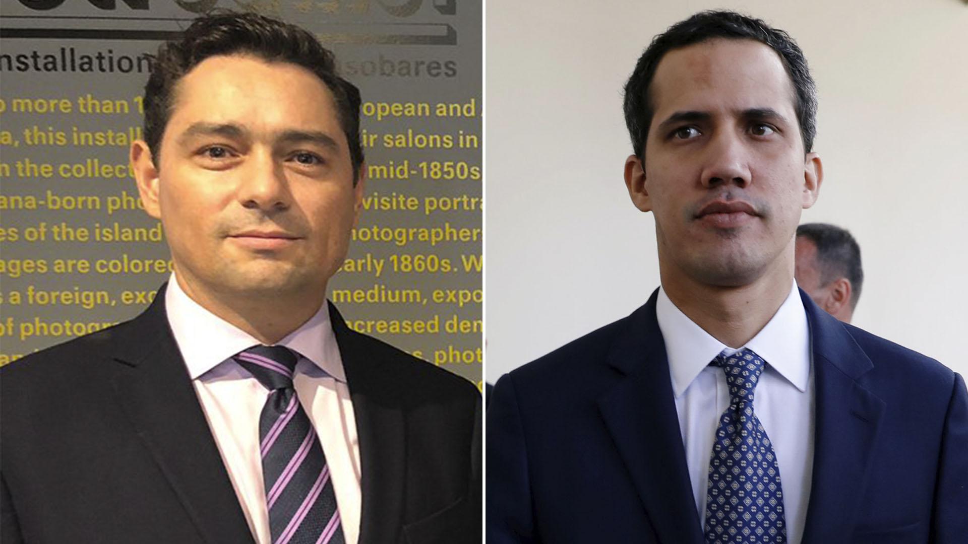 Carlos Vecchio y Juan Guaido