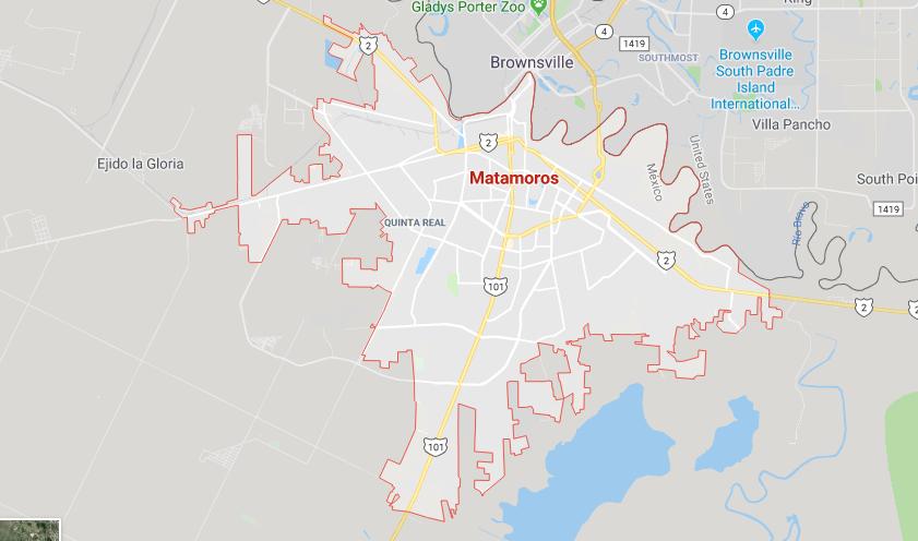 Este conflicto patronal afecta al 40 por ciento de las 110 maquiladoras que hay en Matamoros, Tamaulipas. (Google Maps)
