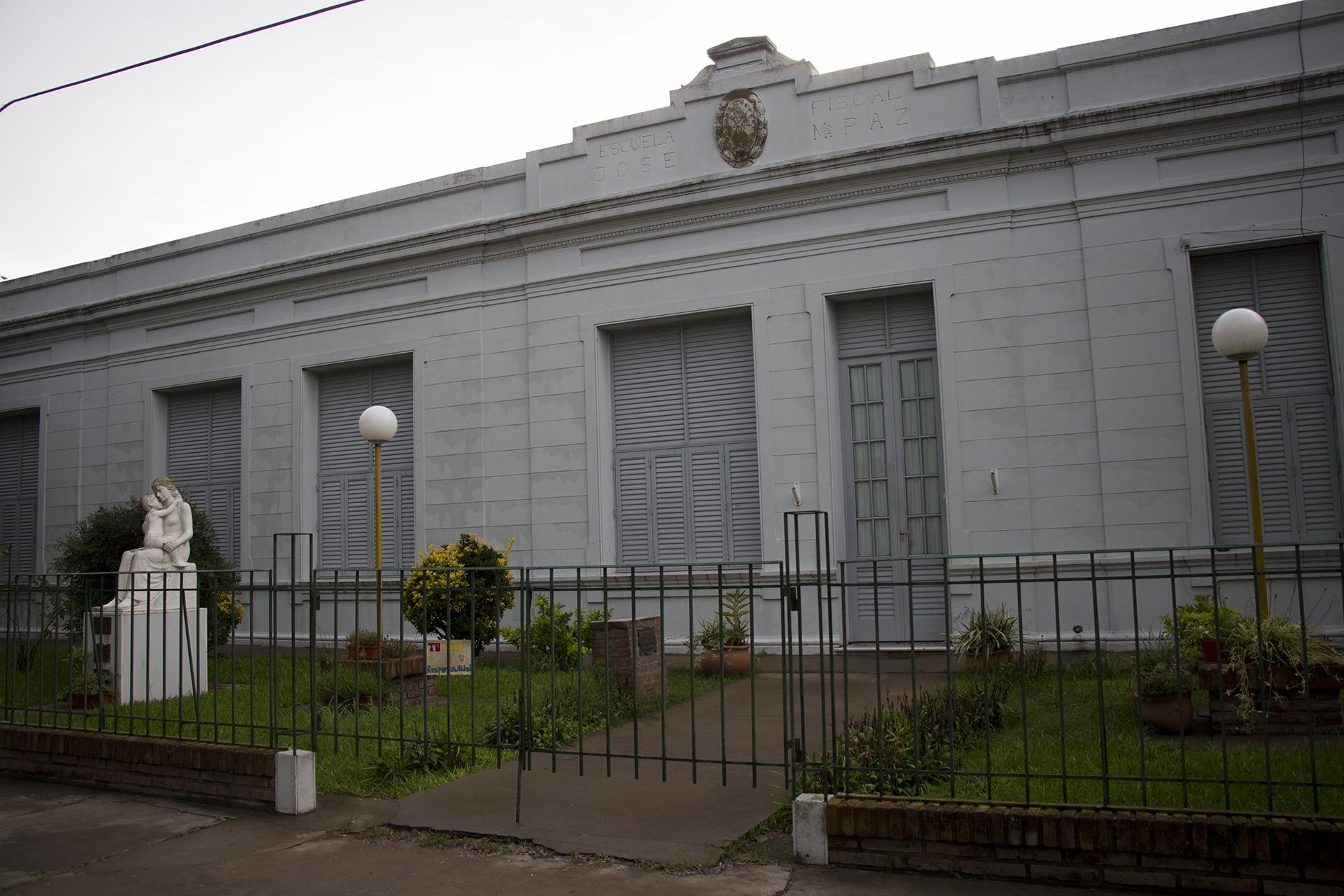 La escuela primaria de Progreso donde estudió Emiliano Sala