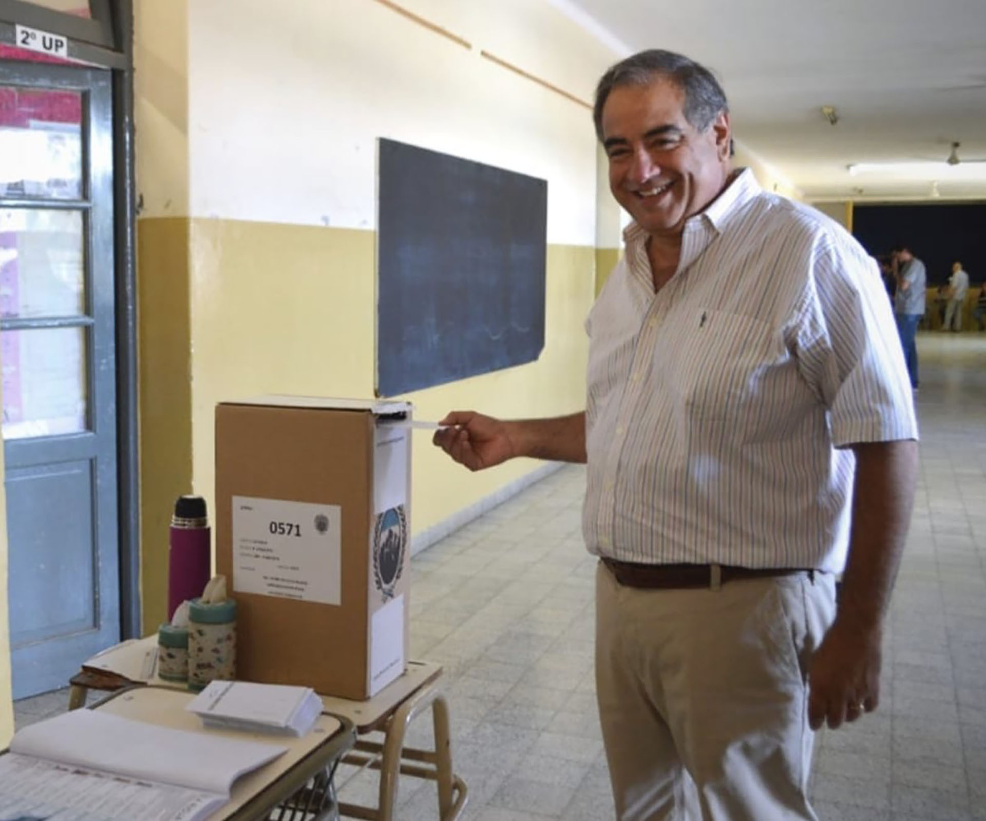 El senador de Cambiemos Julio Martínez se opone a la re-reeleción de Sergio Casas