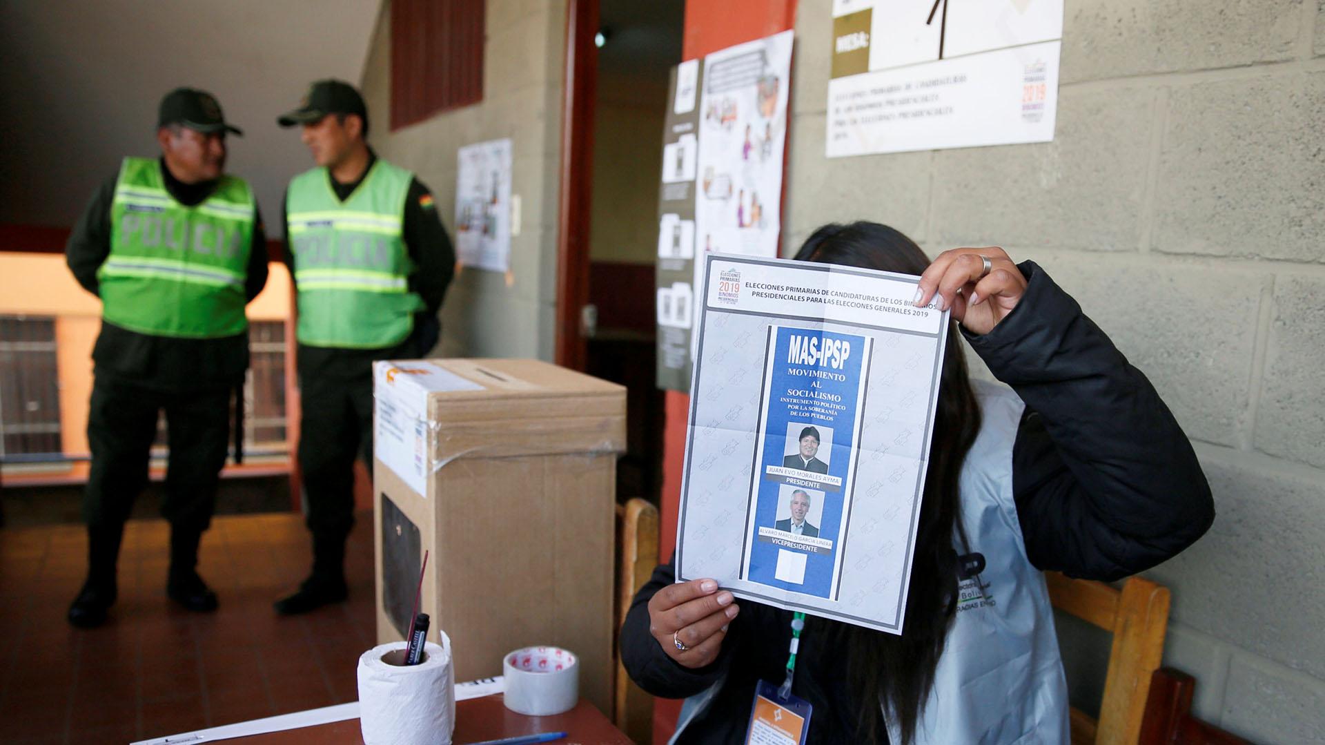 Morales busca la reelección indefinida en Bolivia (REUTERS/David Mercado)