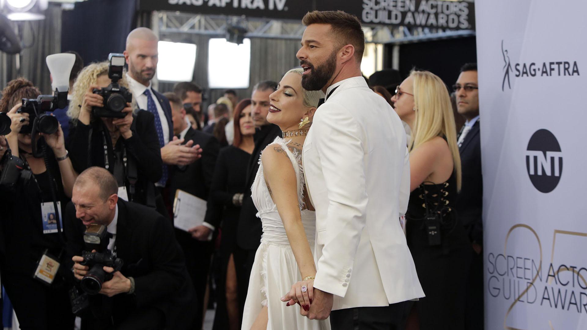 Lady Gaga y Ricky Martin