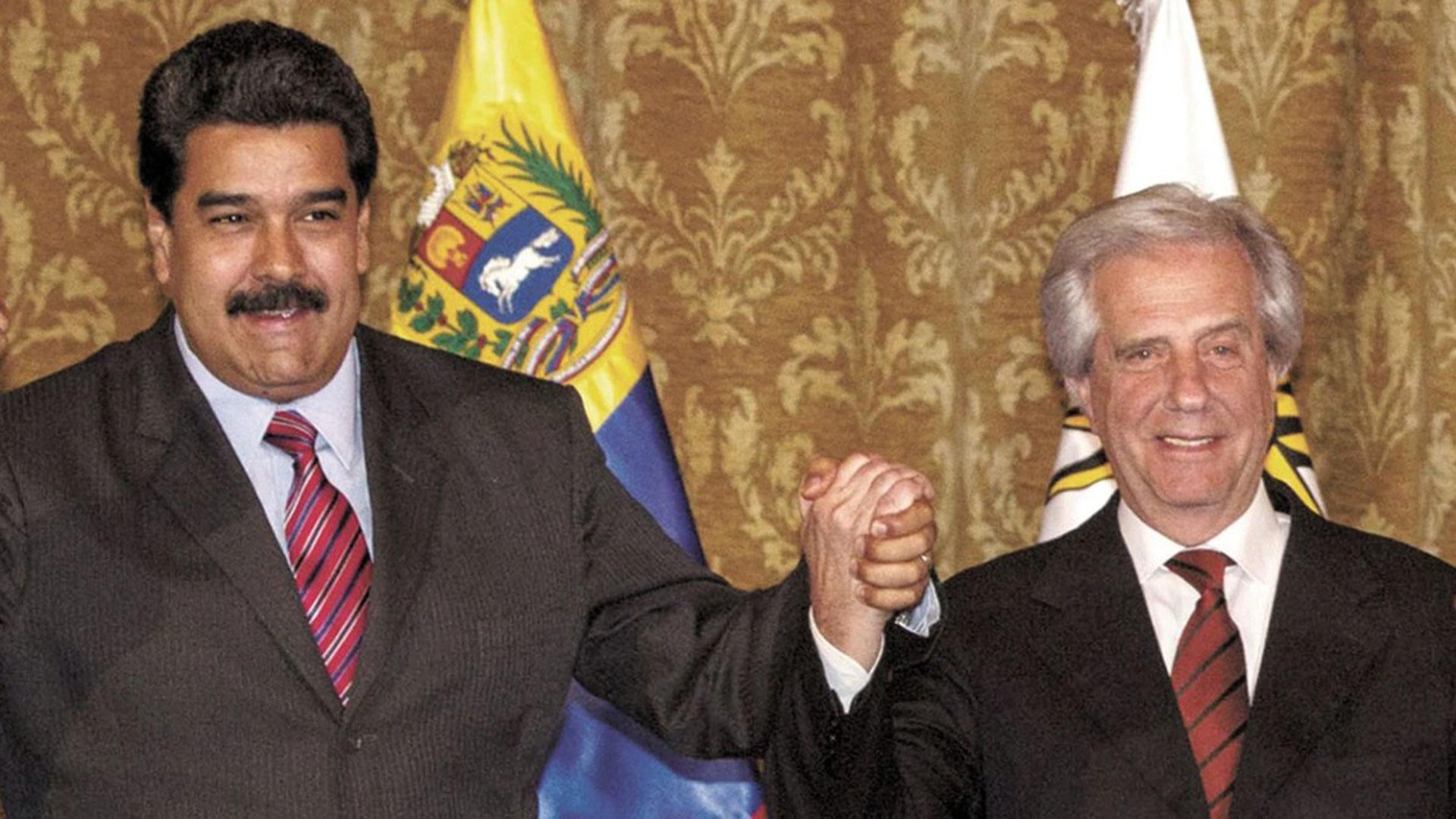 Nicolás Maduro y Tabaré Vázquez, una alianza que parece indestructible.