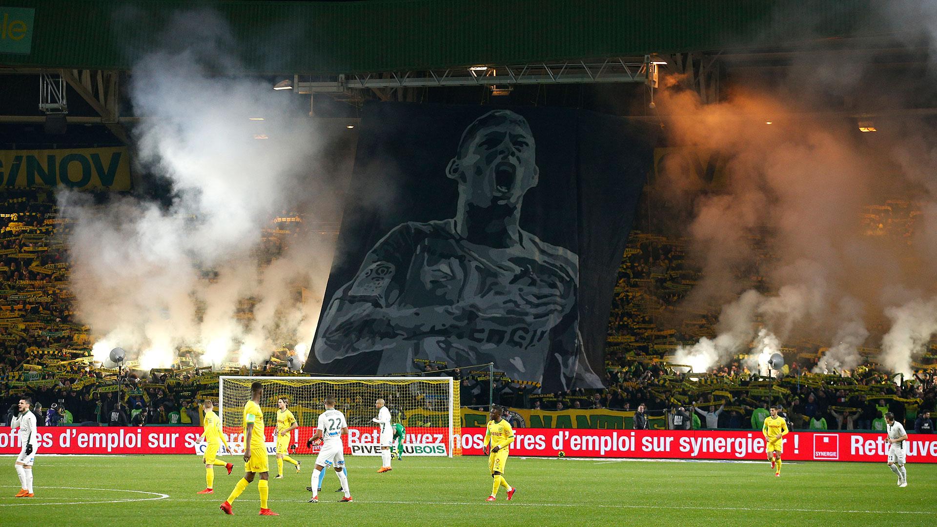 Este miércoles el Nantes jugó su primer partido tras la desaparición de Emiliano Sala