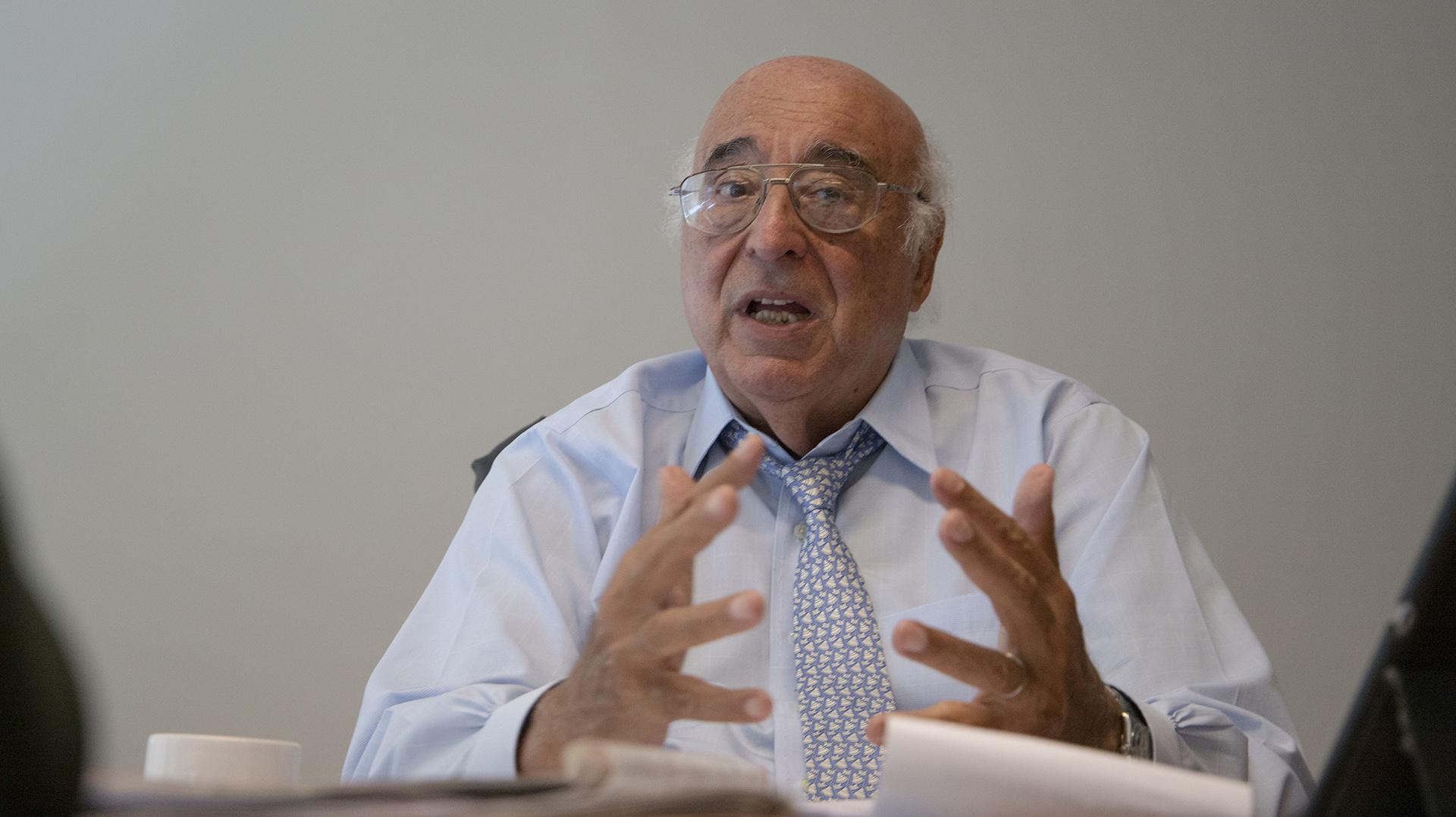 """Broda: """"Tengo una visión positiva de lo que está pasando, en un contexto donde el país recibió una fuerte caída de la demanda por activos argentinos, y con la sola entrada de capitales teníamos vulnerabilidades muy grandes"""""""