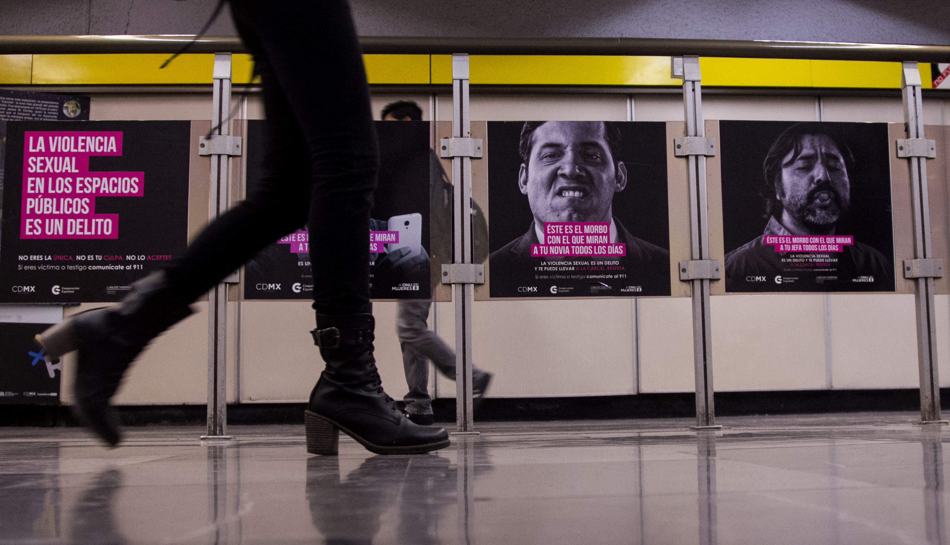 Hasta ahora van 105 reportes de mujeres que han denunciado intento de secuestro en el metro (Foto: Galo Cañas/ Cuartoscuro)