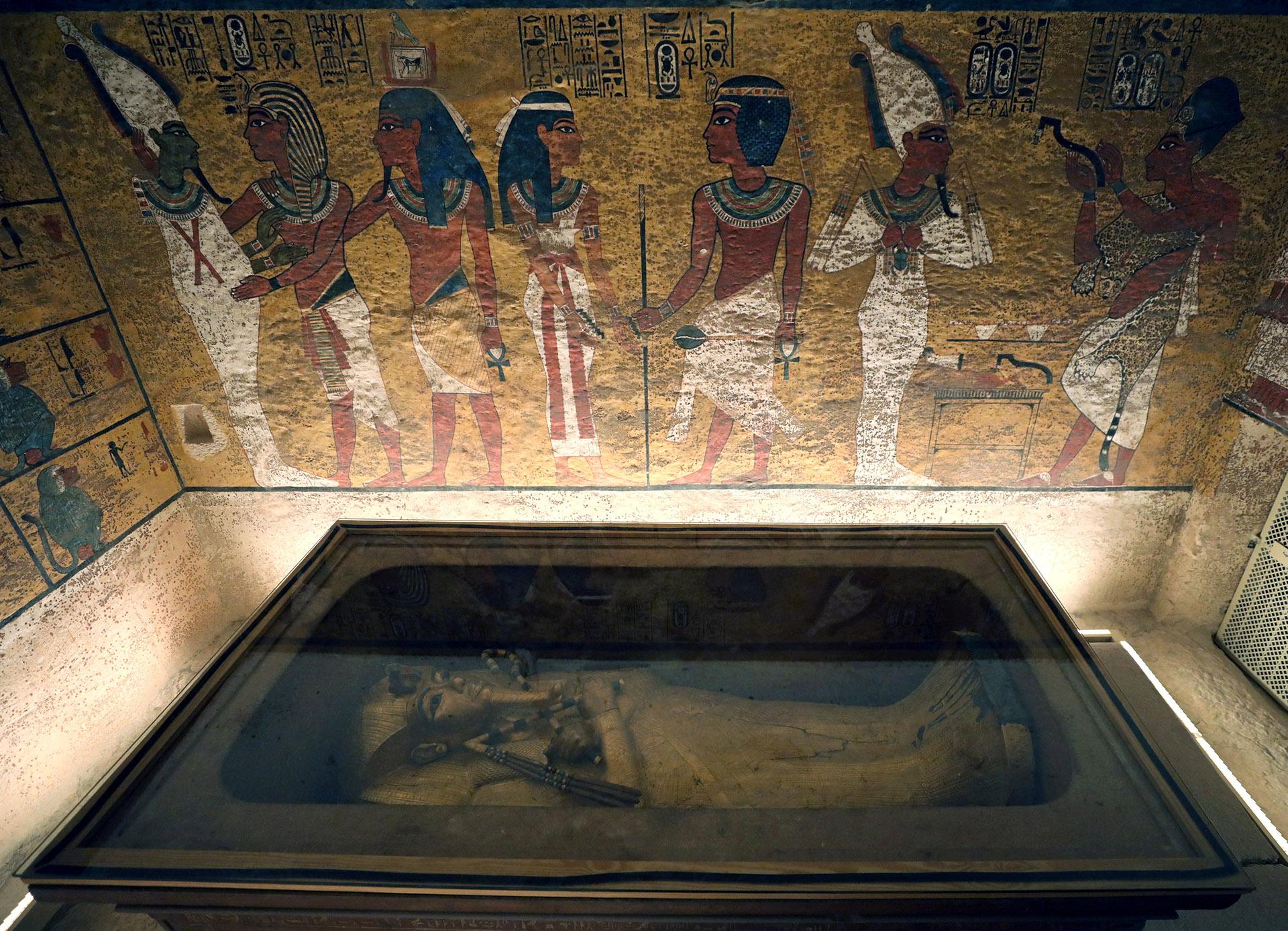 La pequeña tumba del faraón niño, uno de los iconos del Valle de los Reyes, está ahora en mejores condiciones que cuando la descubrió el arqueólogo Howard Carter en 1922, según dijeron arqueólogos egipcios y del equipo responsable del proyecto.