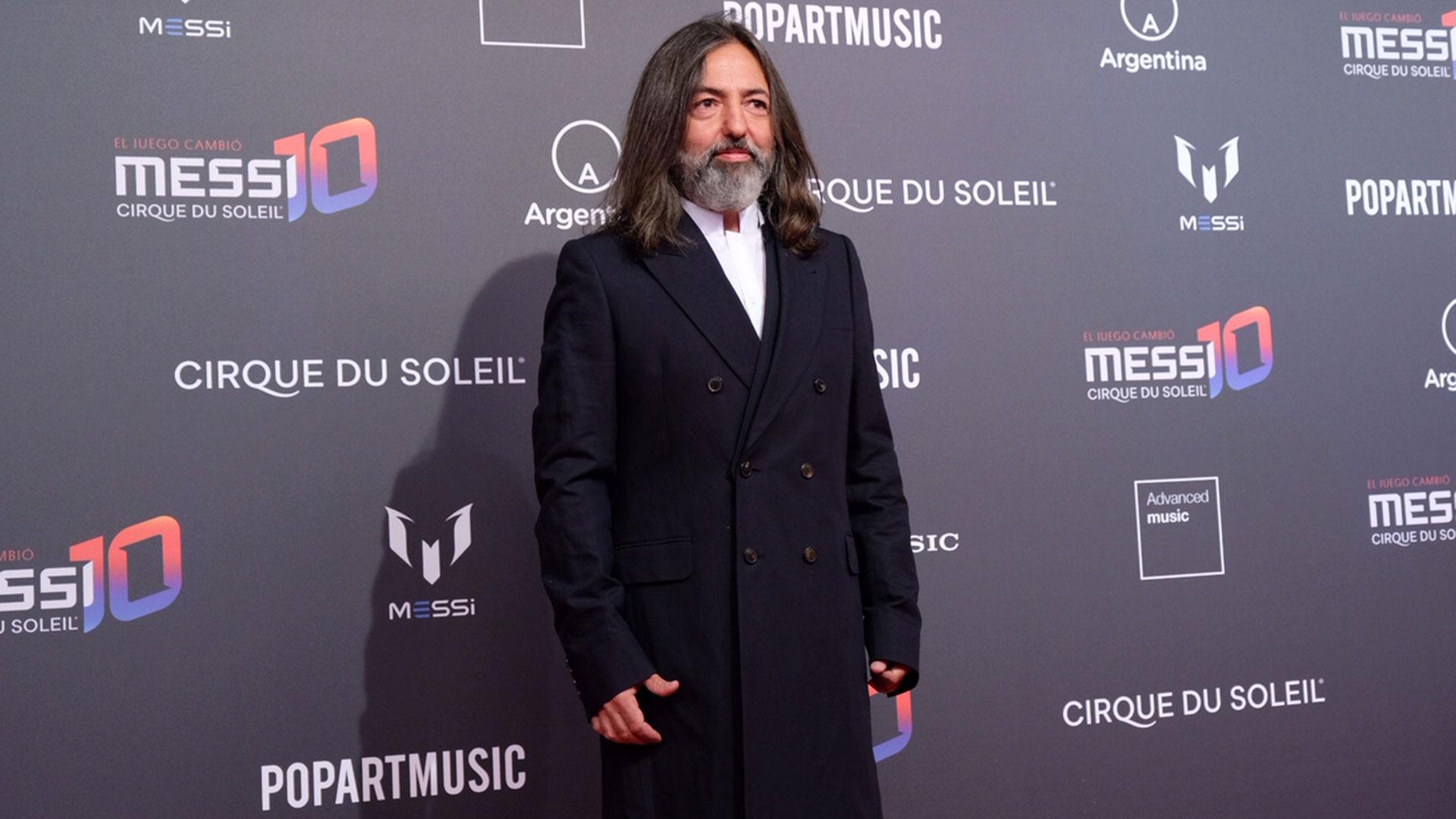 El cantante argentino Adrián Dárgelos